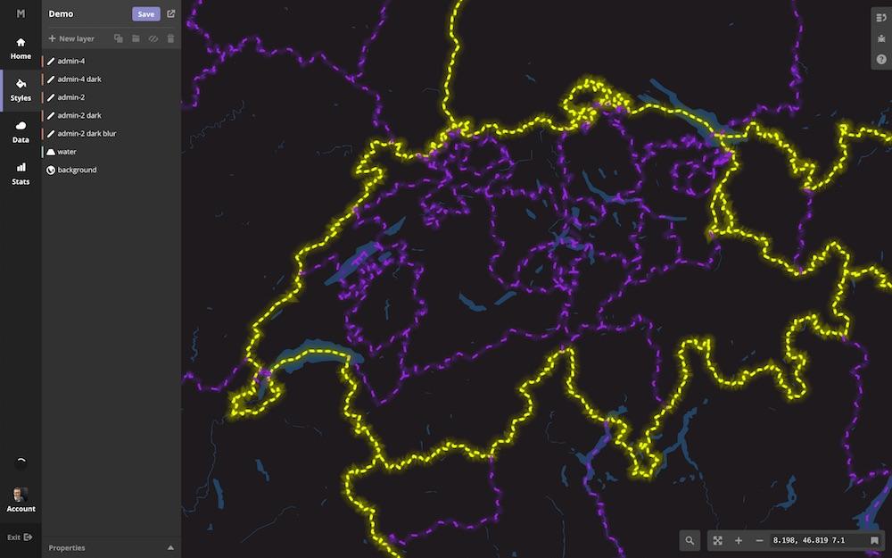 Mapbox Studio Cartography